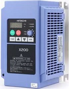 Hitachi frequency inverters X200 compact series for general purpose applications