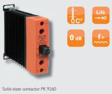 More functionality, more possibilities in DOLD Solid-state relay / contactor.