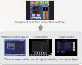 FUJI ELECTRIC, HMI PANELS TECHNOSHOT SERIES SCREEN INTEGRATION