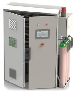 FUJI ELECTRIC, ZPAF BIOGAS ANALYZER & ZPSB BIOGAS ANALYSIS SYSTEM