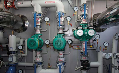Water and wastewater pump systems, tankless water supply and drainage systems